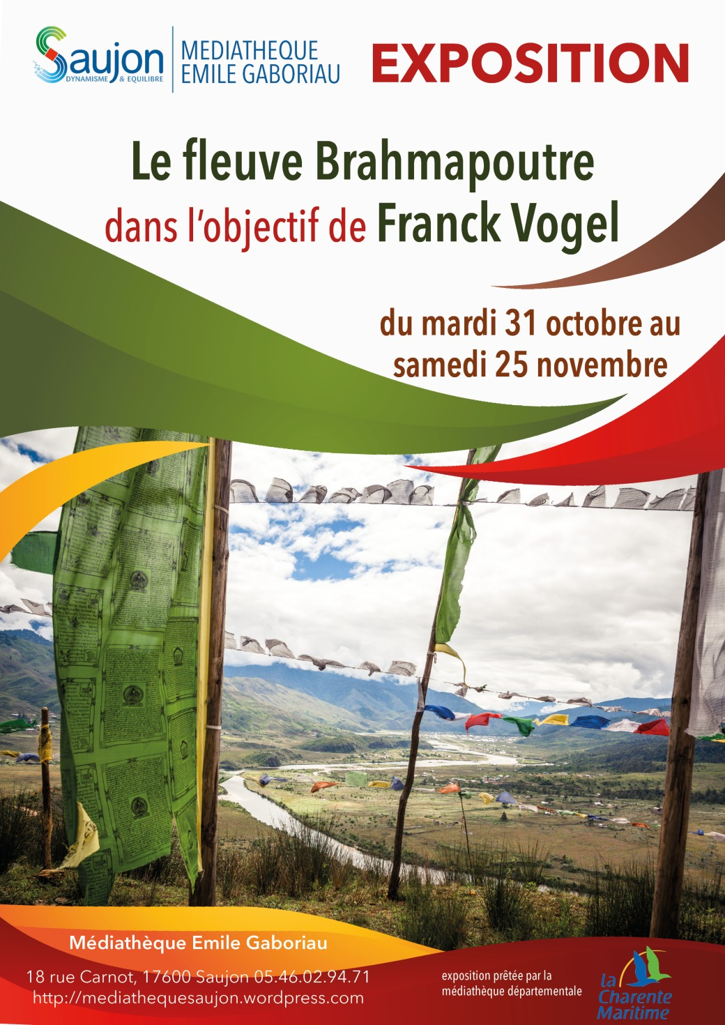 Affiche expo F Vogel